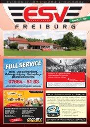 ESV Nachrichten 2-2013.indd - ESV Freiburg