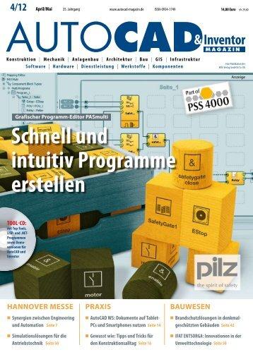 Leseprobe AUTOCAD & Inventor Magazin 2012/04