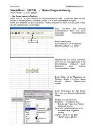 Visual Basic / EXCEL / Makro Programmierung - Lo-Net 2