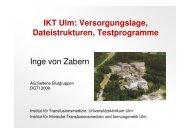 IKT Ulm - Arbeitsgruppe Seltene Blutgruppen