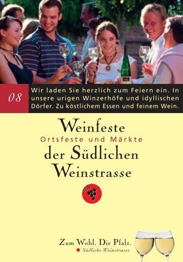 Weinfeste der Südlichen Weinstrasse - Ferienwohnung Scheibel