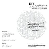 Programmheft (Stand 17.03.2005) - des Psychologischen Instituts ...