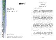 SIMSON church documents - Apostolische Dokumente