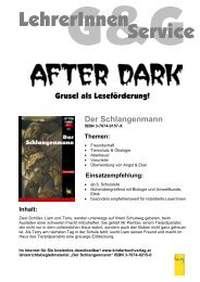 LBM_After_Dark_Der_Schlangenmann - G&G Kinderbuchverlag