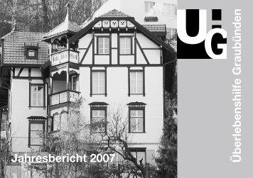 Überlebenshilfe Graubünden Jahresbericht 2007 - Verein ...