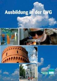 Ausbildung in der LWG - LWG Lausitzer Wasser