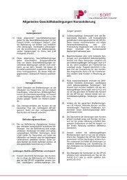 AGB's Konsolidierung - Francotyp-Postalia AG & Co.