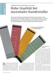 Hohe Qualität bei maximaler Kundennähe - Siemens