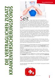 Zusatzfonds - SGB - CISL