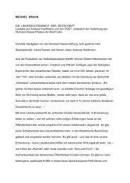 MICHAEL BRAUN DIE UNVERZICHTBARKEIT DER ZEITSCHRIFT ...
