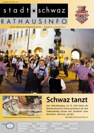 PDF Rathausinfo Nr. 05/2013 - Schwaz