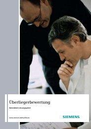 SAP for Healthcare: IS-H Überliegerbewertung 622kB - Siemens ...