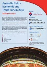 Delegation to China Flyer (1.05 MB pdf) - Australia China Business ...