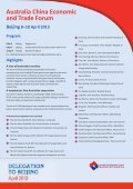 Delegation to China Flyer (1.05 MB pdf) - Australia China Business ... - Page 3