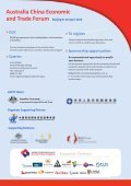 Delegation to China Flyer (1.05 MB pdf) - Australia China Business ... - Page 4