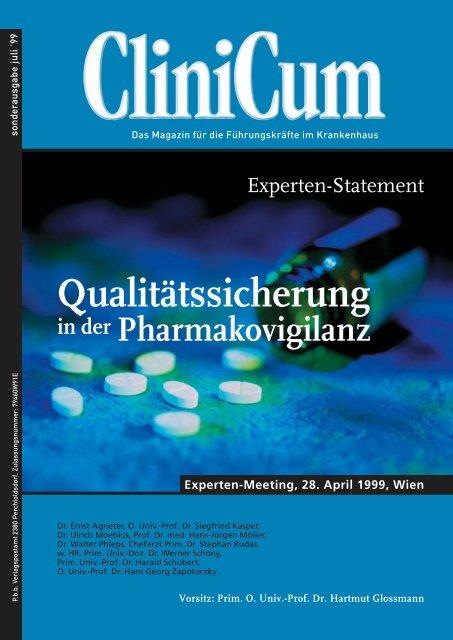 Qualitätssicherung in der Pharmakovigilanz - Medizin Akademie