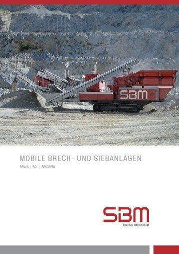 MOBILE BRECH- UND SIEBANLAGEN - SBM