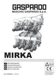 Bed.-Anleitung MIRKA 2013-03 G19503810 DEUTSCH - Maschio ...