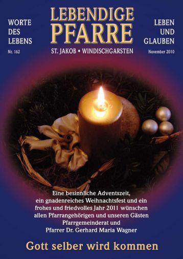 Pfarrbrief 162 - Pfarre Windischgarsten - Diözese Linz