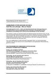 Hamburger Utopie-Wochen 2012/2013 - Hamburger Netzwerk ...