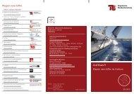 Flyer Auf Kurs - Allgemeine Studienberatung an der TU-Berlin