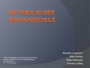 Feier - Friedrich-Alexander-Universität Erlangen-Nürnberg