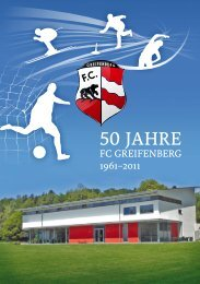 Festschrift 50 Jahre FC Greifenberg