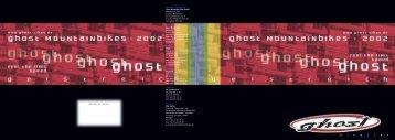 Katalog 2002 - Ghost Bikes