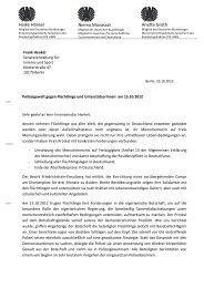Brief an Henkel Polizeigewalt - Niema Movassat, MdB