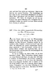 43 I XIV. l.'etkr rim elektro-magnetische Chronoskop;