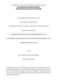 Prüfungsordnung - University Duisburg Essen, Electrical Engineering