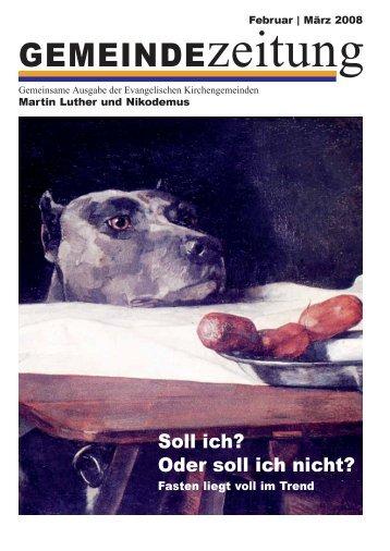 Ausgabe Februa - Martin-Luther-Kirche