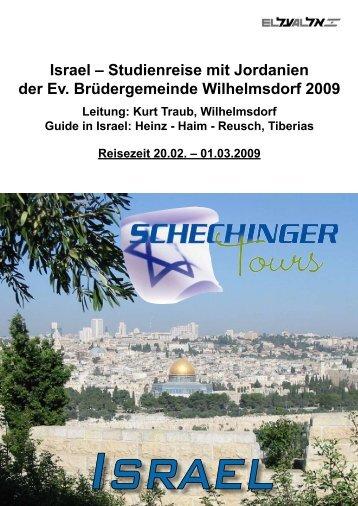 Israel - Evangelische Brüdergemeinde Wilhelmsdorf