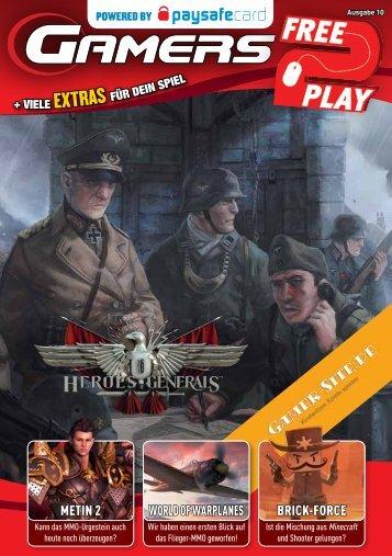 Download der Ausgabe - Kostenlose Spiele Spielen