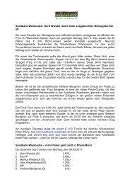 Spielbank Wiesbaden: Gerd Wandel räumt beim ausgebuchten ...
