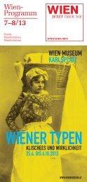 Programm Juli-August 2013 - Vienna