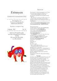 1. Einleitung zur materialen Wertphilosophie - Erinnyen Nr. 18 ...