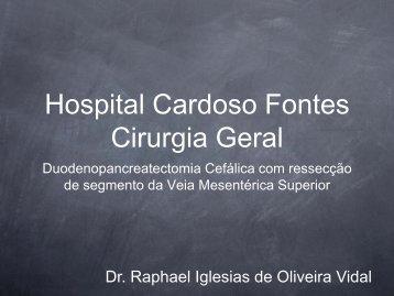 Hospital Cardoso Fontes Cirurgia Geral