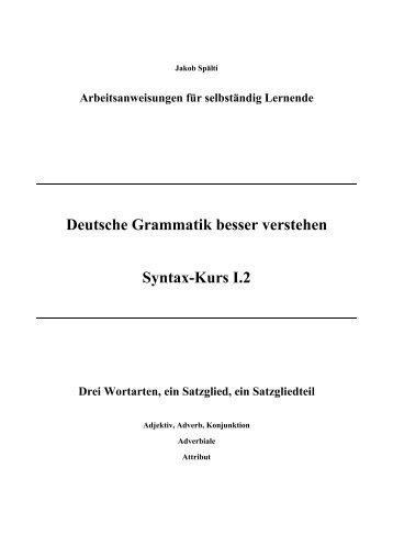 Kompetenzraster Grammatik Zukunftsschulen Nrw