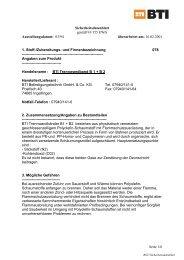 Sicherheitsdatenblatt gemäß 91/155 EWG Ausstellungsdatum: 03 ...