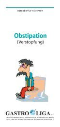 Verstopfung - Obstipation