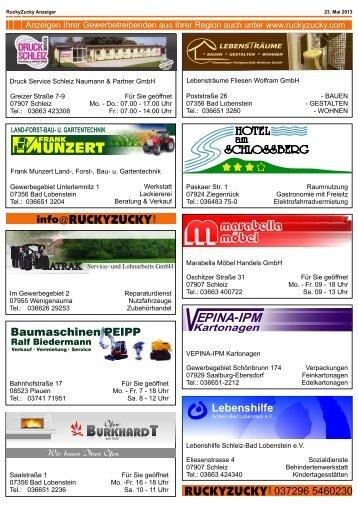 Anzeiger Saale-Orla-Kreis - RuckyZucky.com