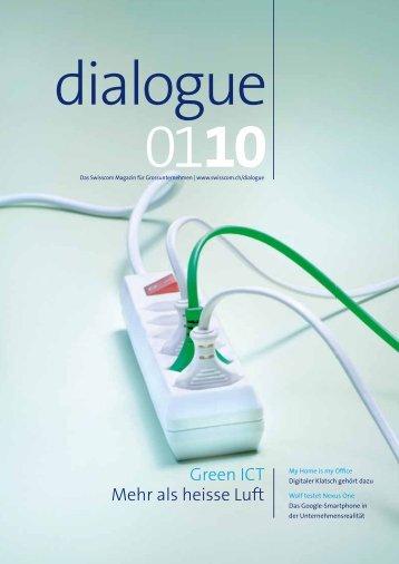 dialogue Magazin 01/10 - Ratundtat GmbH