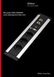 EVOline® Frame Dock - De Projectinrichter