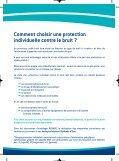 Les protections individuelles contre le bruit Les protections ... - Page 7