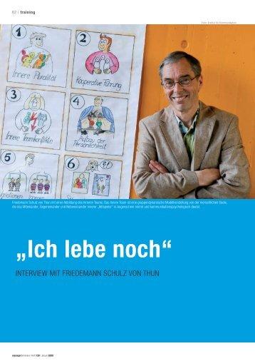 """""""Ich lebe noch"""" - kommunikation-fuehrung"""