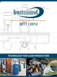 TECHNOLOGY FOR CLEAN PRODUCTION - Dustcontrol
