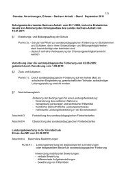 1/3 Gesetze, Verordnungen, Erlasse - Sachsen Anhalt - Stand ...