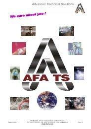 Katalog (ohne Preise) PDF - Afa TS GmbH