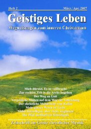 GL 2/2007 - der Lorber-Gesellschaft eV